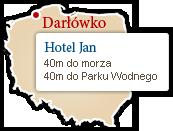 Mapka - Hotel Jan